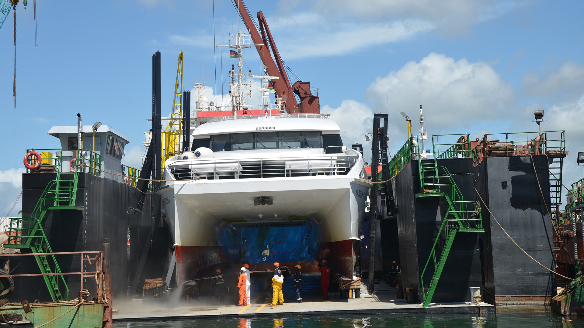 SECO-DRY DOCKING, SHIP REPAIRS & SHIPYARD SERVICES