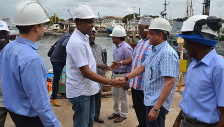 PRINCIPAL SECRETARY MINISTRY OF TRANSPORT AND INFRASTRUCTURE – GOK VISITS SECO