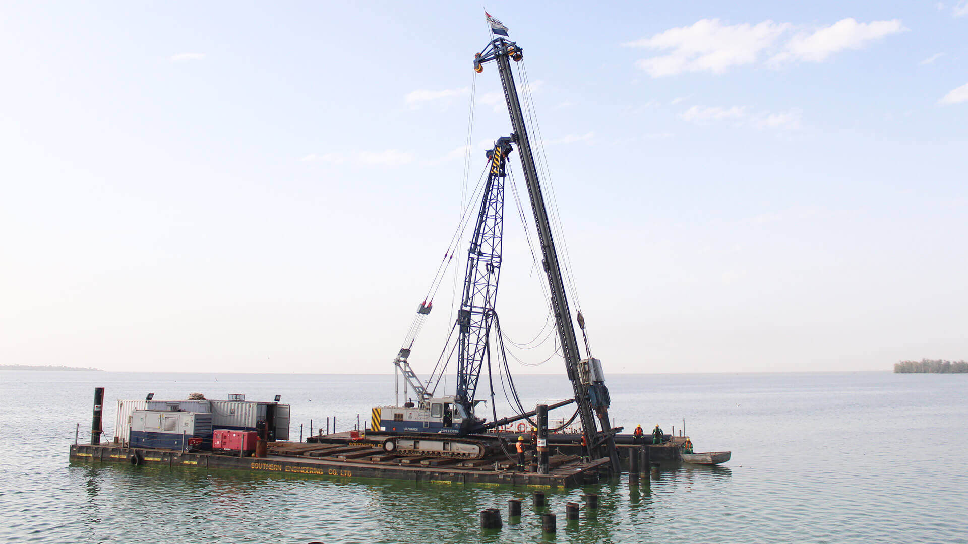 Onshore And Offshore Piling In Kenya And East Africa
