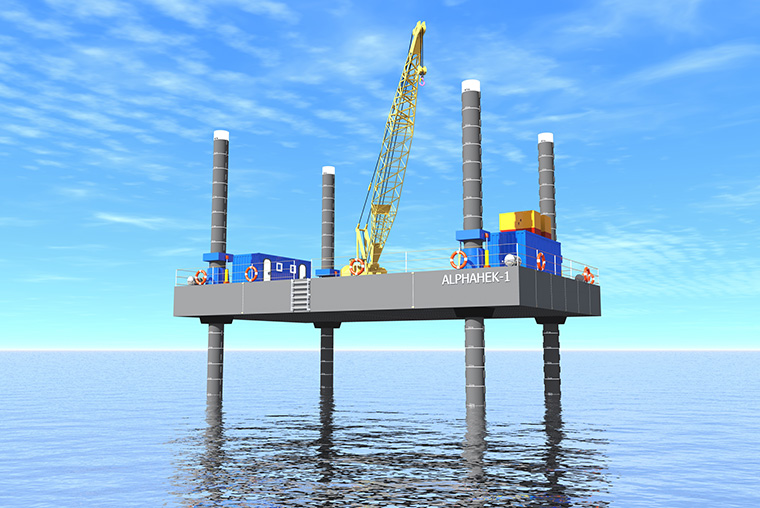 SECO TO BUILD A NEW JACK UP BARGE FOR ALPHAHEK | Southern