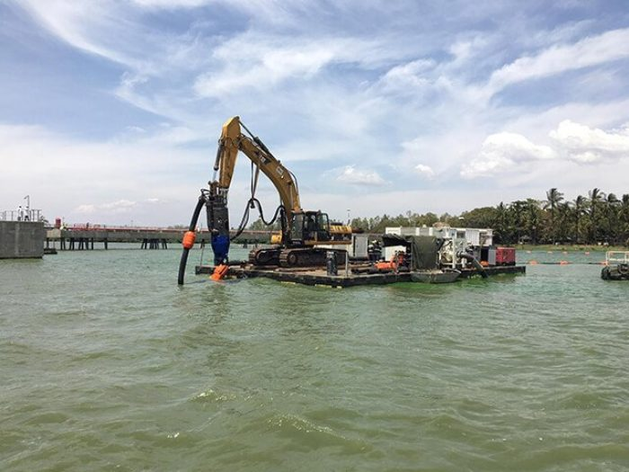 Dredging Works at the Kisumu Oil Jetty - Kenya Ports Authority (KPA
